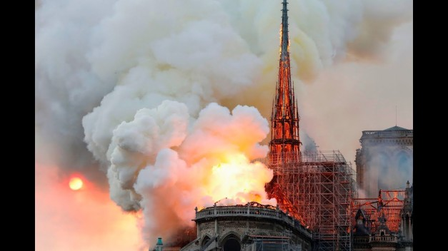 Notre-Dame-Cathedral-Fire-YouTube-Screenshot