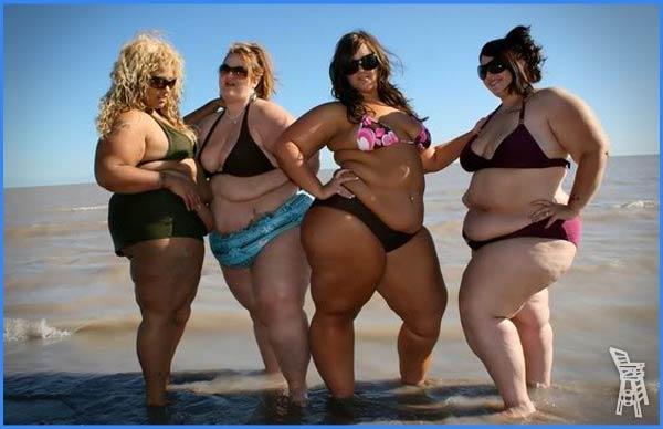 fat bikinis