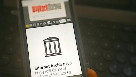 Internet-Archive-WayBack-Machine