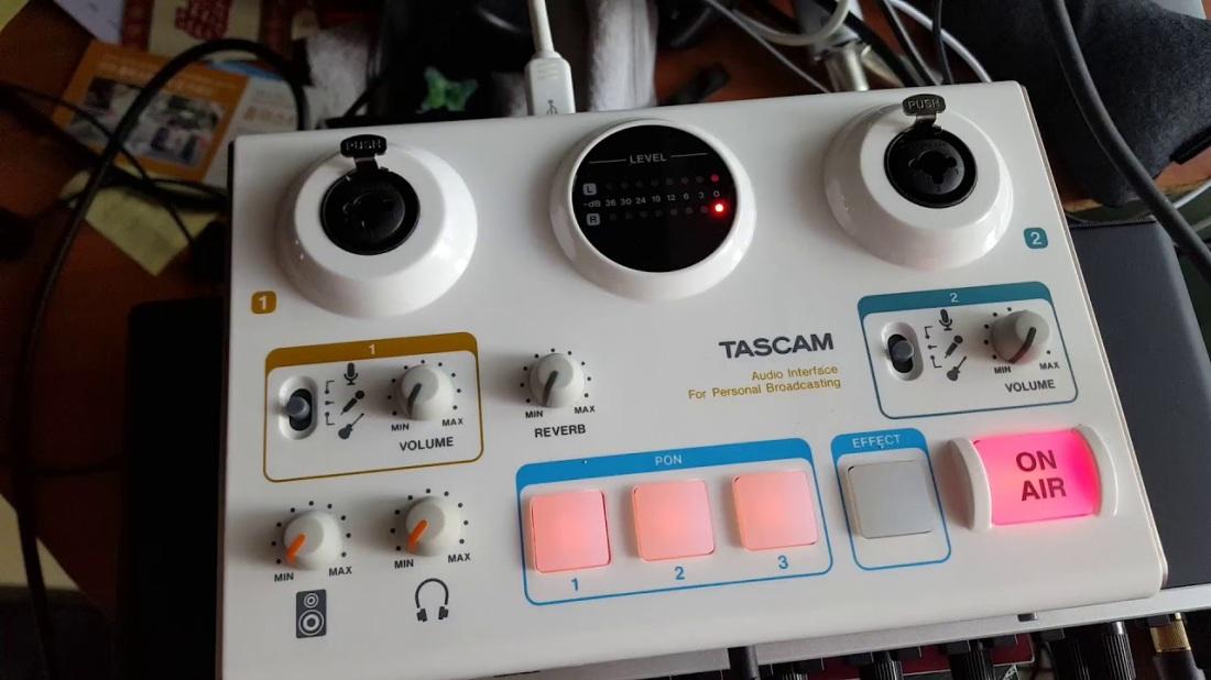 TASCAM Mini Studio Creator