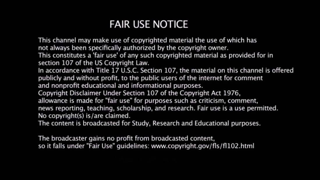 fair use notice