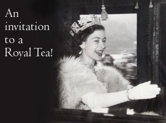 invite to royal tea