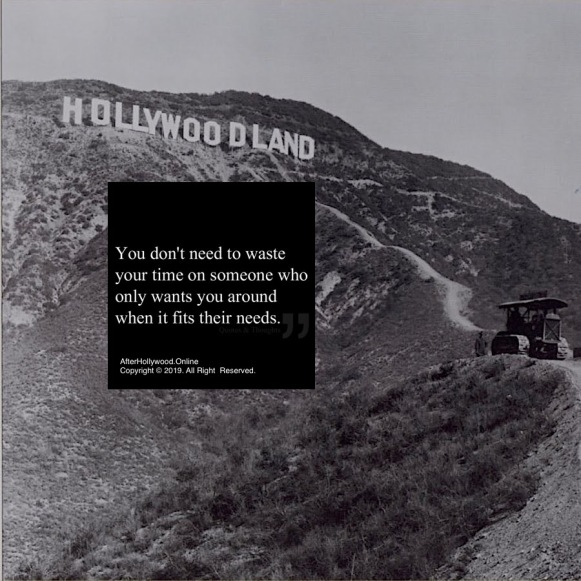 Don't Waste Time Hollywood Land Construction 1920's