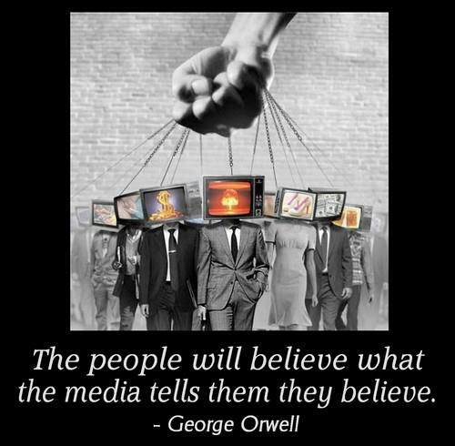 people tv mind control george orwell