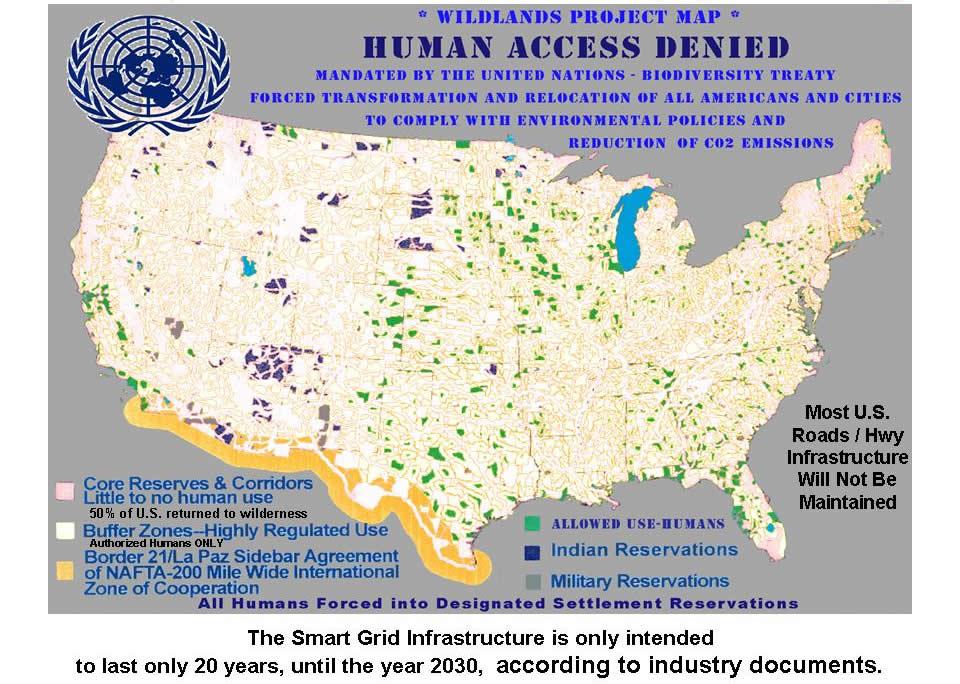 No Human Access 2019 2030