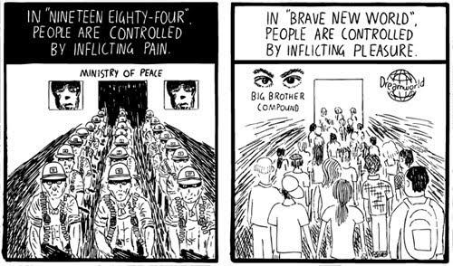 orwell-vs-huxley