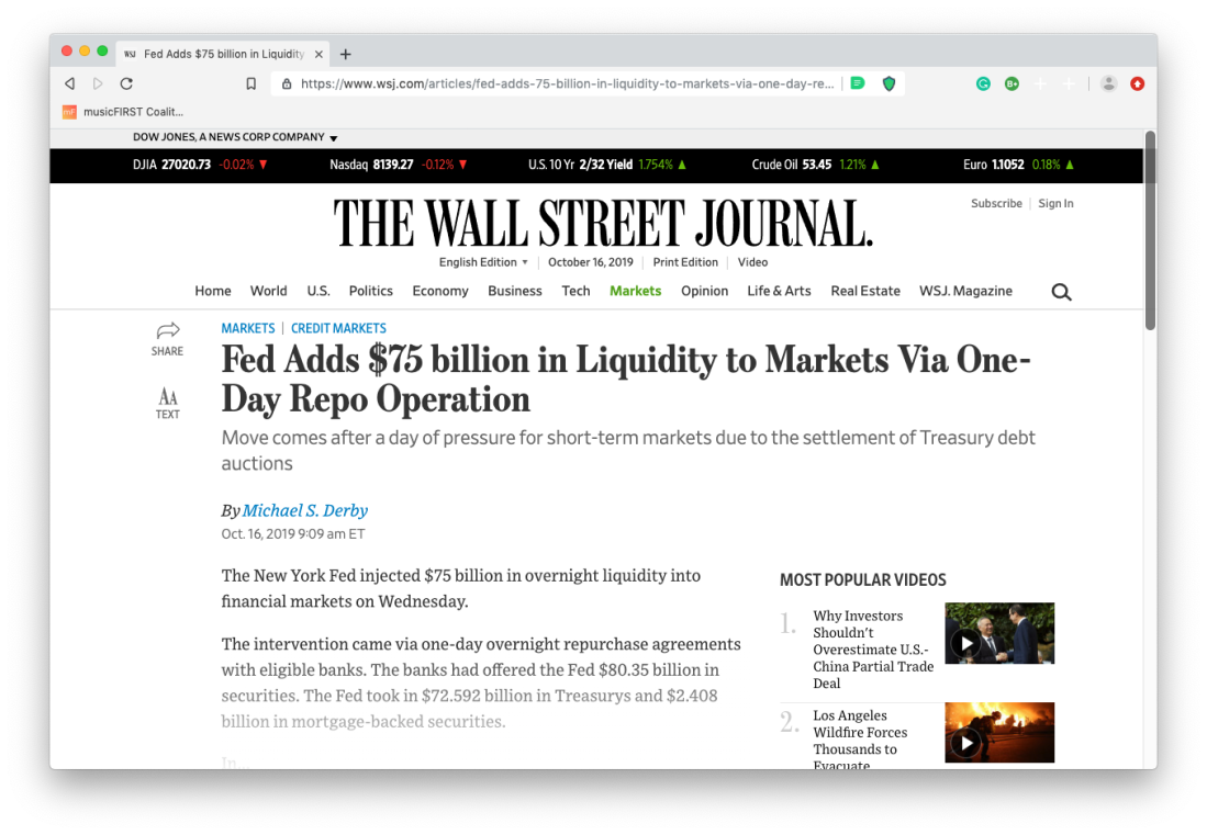 Pump and Dump WSJ 2019 Screen Shot 2019-10-16 at 8.13.10 AM