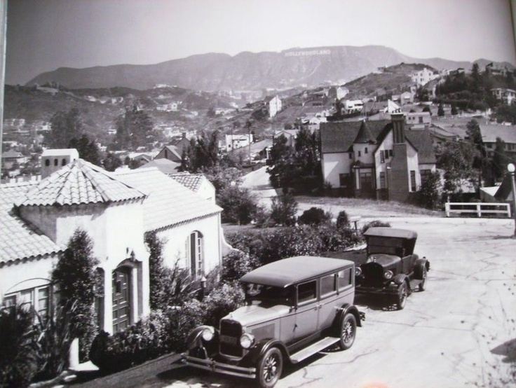 Hollywood Hills 1930's