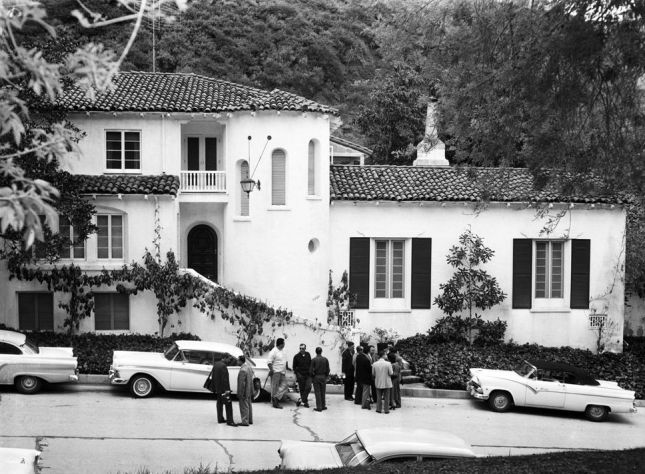 Hollywood Mansion 1950's
