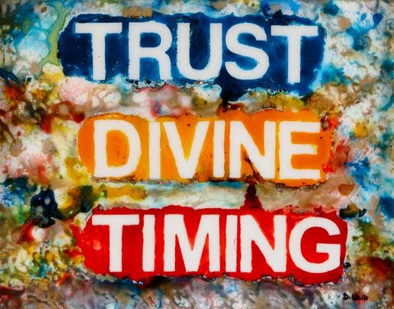 Trust Devine Timing 2019
