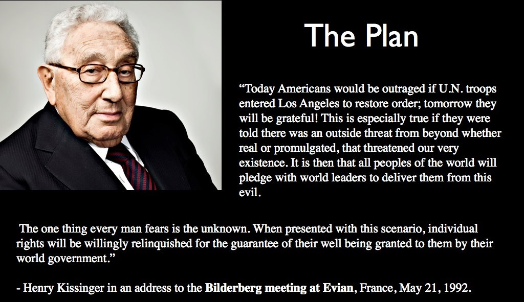 Kissinger The Plan United Nations