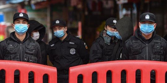 Corona Virus Police China