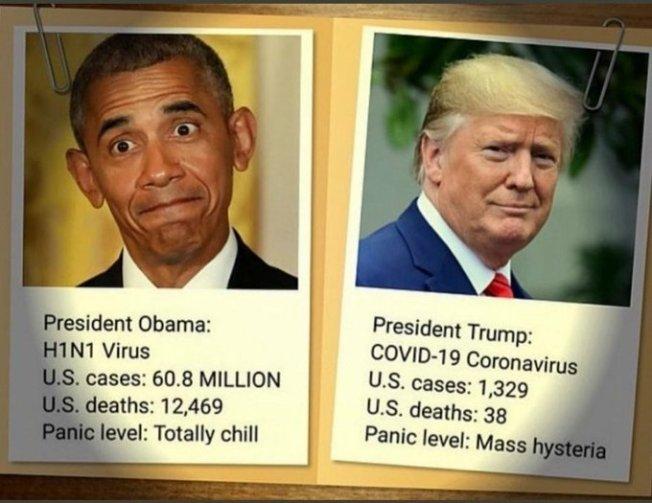 Obama Vs Trump