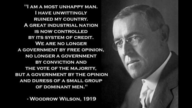Woodrow Wilson, 1919