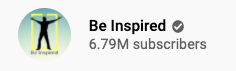 Be Inspired You Tube Page