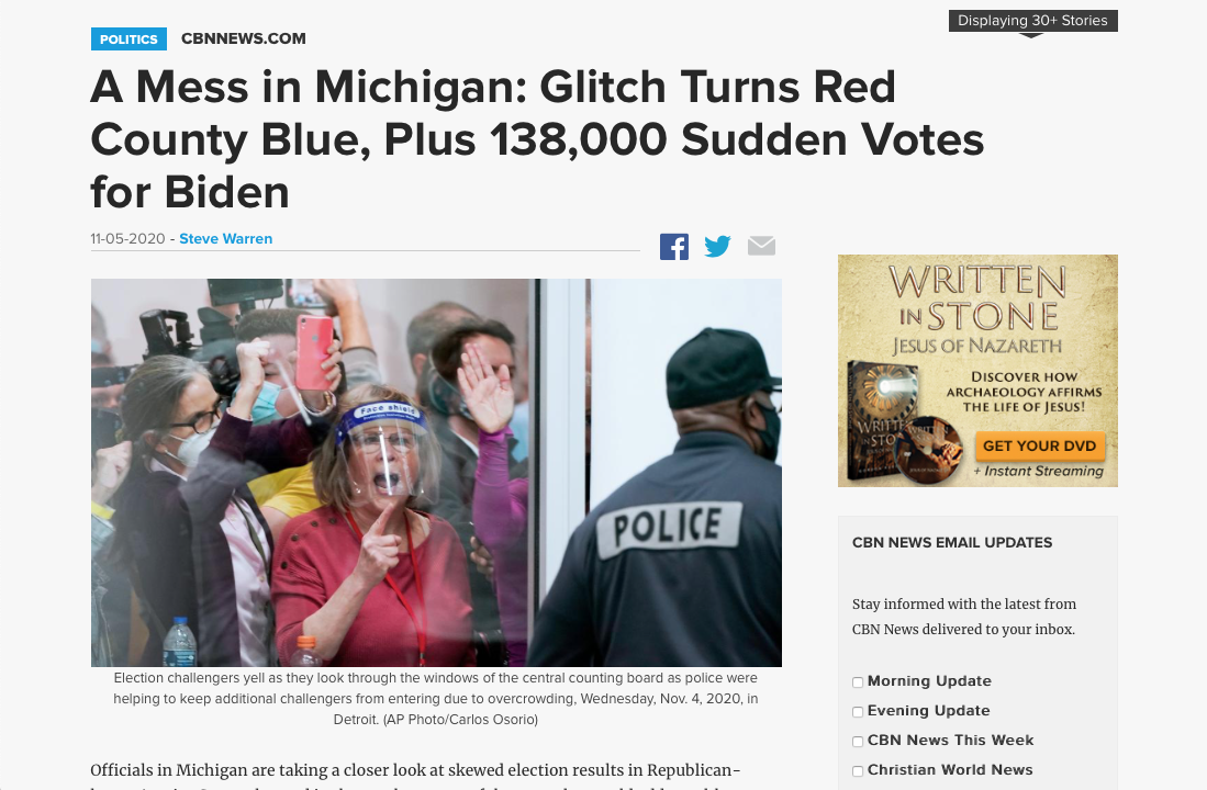 A Mess in Michigan 2020